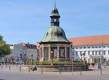 Der Wismarer Marktplatz