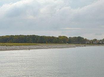 Wustrow - Blick von der Seebrücke in Rerik