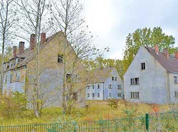 Die Häuser auf Wustrow