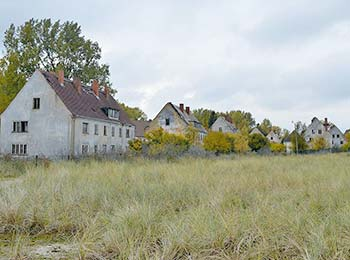 Häuser auf Wustrow